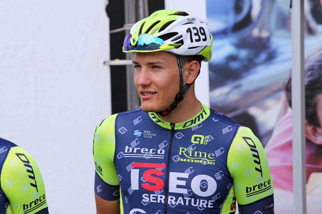 Samuele Zambelli in azzurro a Laigueglia!